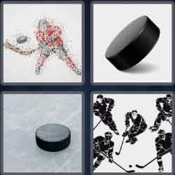 4 Pics 1 Word 4 Letters Puck