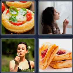 4 Pics 1 Word 4 Letters Puff