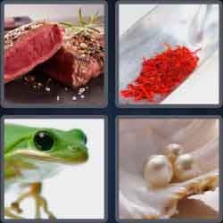 4 Pics 1 Word 4 Letters Rare