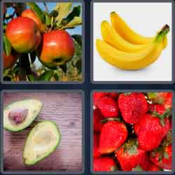 4 Pics 1 Word 4 Letters Ripe