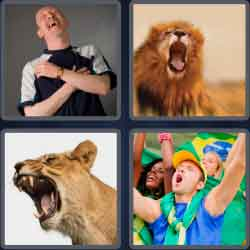 4-pics-1-word-4-letters-roar