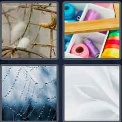 4 Pics 1 Word 4 Letters Silk 2