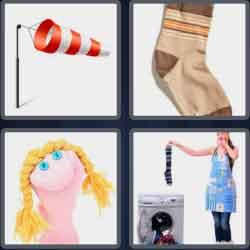 4-pics-1-word-4-letters-sock
