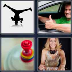 4 Pics 1 Word 4 Letters Spin