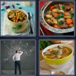 4 Pics 1 Word 4 Letters Stew