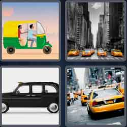 4-pics-1-word-4-letters-taxi