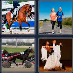 4 Pics 1 Word 4 Letters Trot