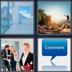 4 Pics 1 Word 4 Letters View