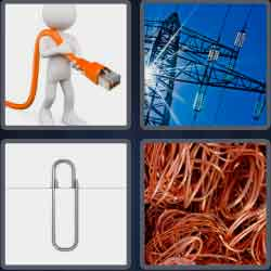 4-pics-1-word-4-letters-wire