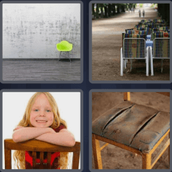 4 Pics 1 Word 5 Letters Chair