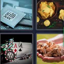 4 Pics 1 Word 5 Letters Chips