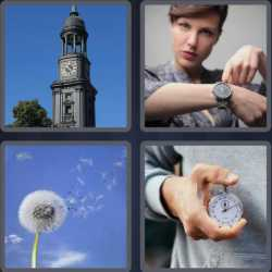 4-pics-1-word-5-letters-clock