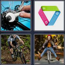 4 Pics 1 Word 5 Letters Cycle