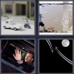 4 Pics 1 Word 5 Letters Dodge