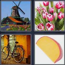4 Pics 1 Word 5 Letters Dutch