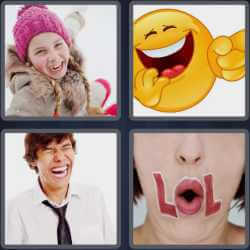 4-pics-1-word-5-letters-laugh