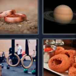 4 Pics 1 Word 5 Letters Rings