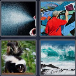 4-pics-1-word-5-letters-spray