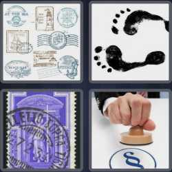 4-pics-1-word-5-letters-stamp