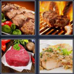 4-pics-1-word-5-letters-steak