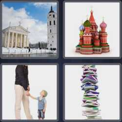 4 Pics 1 Word 5 Letters Tower