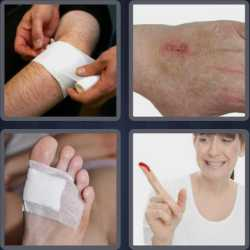 4-pics-1-word-5-letters-wound