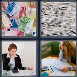 4 Pics 1 Word 5 Letters Bills