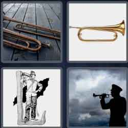 4-pics-1-word-5-letters-bugle