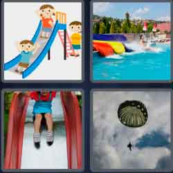 4-pics-1-word-5-letters-chute