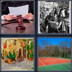 4-pics-1-word-5-letters-court