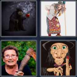 4-pics-1-word-5-letters-crone