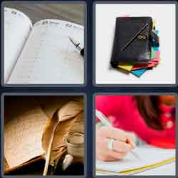 4-pics-1-word-5-letters-diary