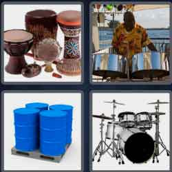 4-pics-1-word-5-letters-drums
