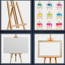 4-pics-1-word-5-letters-easel