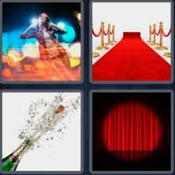 4 Pics 1 Word 5 Letters Event