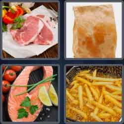 4 Pics 1 Word 5 Letters Fatty