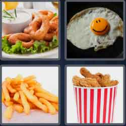 4-pics-1-word-5-letters-fried