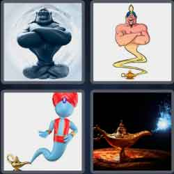 4-pics-1-word-5-letters-genie
