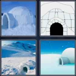 4-pics-1-word-5-letters-igloo