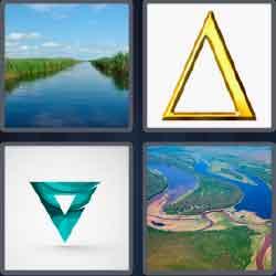 4 Pics 1 Word 5 Letters Level 3668 Delta