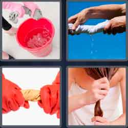 4 Pics 1 Word 5 Letters Level 3671 Wring