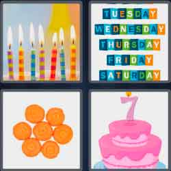 4 Pics 1 Word 5 Letters Level 3704 Seven