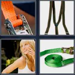 4 Pics 1 Word 5 Letters Level 3718 Strap