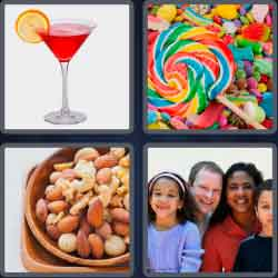 4 Pics 1 Word 5 Letters Mixed