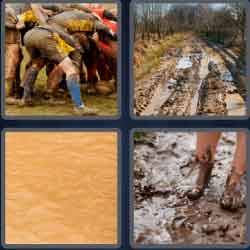 4-pics-1-word-5-letters-muddy