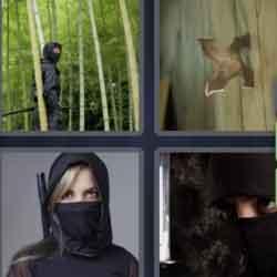 4 Pics 1 Word 5 Letters Ninja