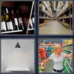 4 Pics 1 Word 5 Letters Shelf