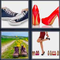4-pics-1-word-5-letters-shoes