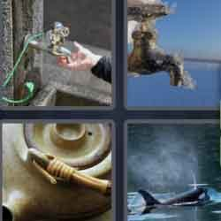 4 Pics 1 Word 5 Letters Spout