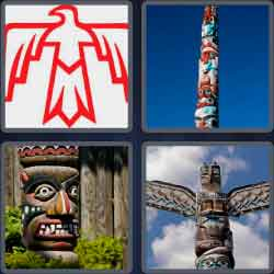 4-pics-1-word-5-letters-totem